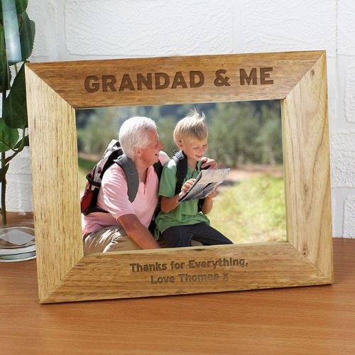 Grandad & Me 7x5 Photo Frame